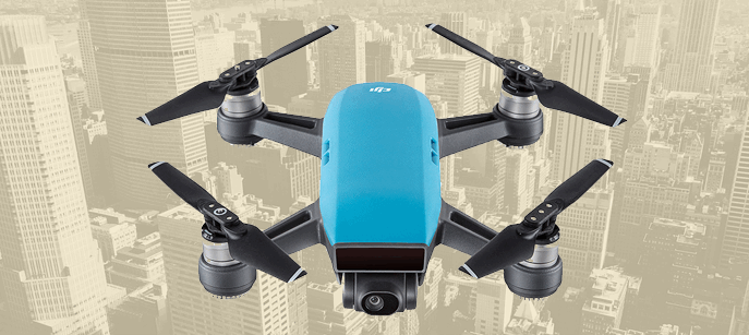 The drone we'll be giving away at Strata