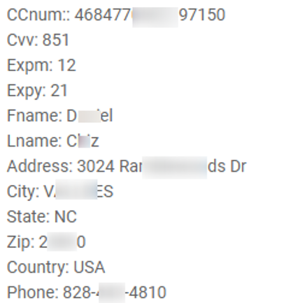 Phone and address